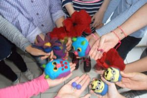 Filzen zum Kindergeburtstag